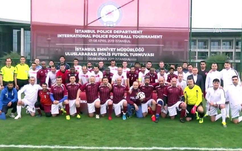 Azərbaycanın polislərdən ibarət futbol komandası İtaliyanı məğlub edib