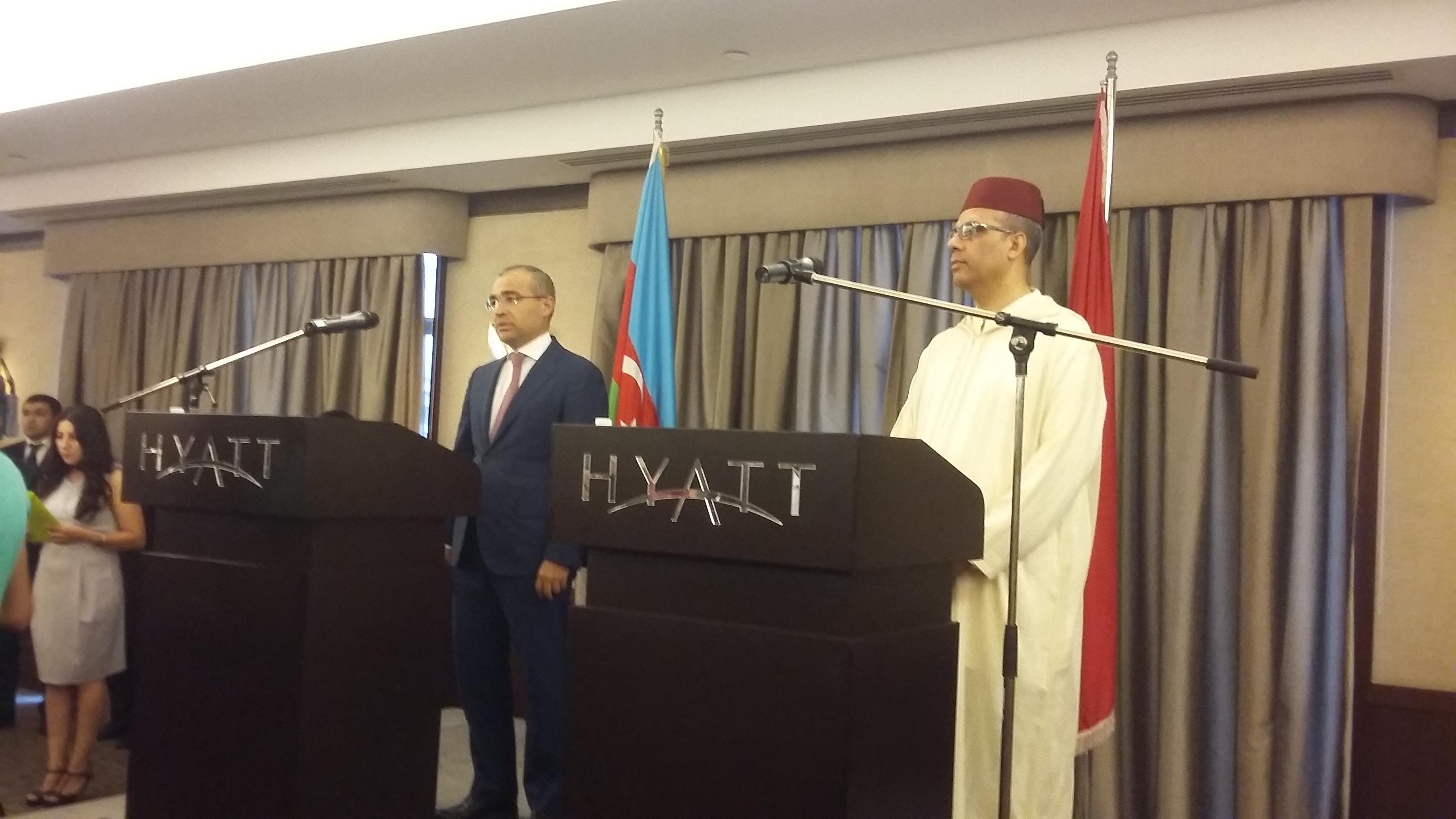 В Баку отметили национальный день Марокко