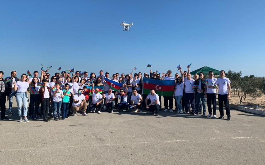 Abşeron Milli Parkında marafon keçirilib - FOTO