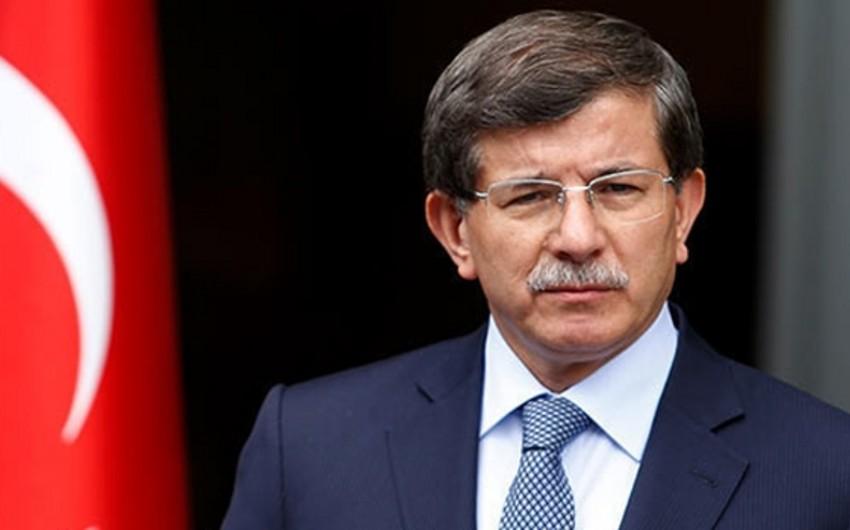 Əhməd Davudoğlu: Qarabağ münaqişəsi zonasında vəziyyətin gərginləşməsi status-kvonun qəbuledilməz olduğunu göstərdi
