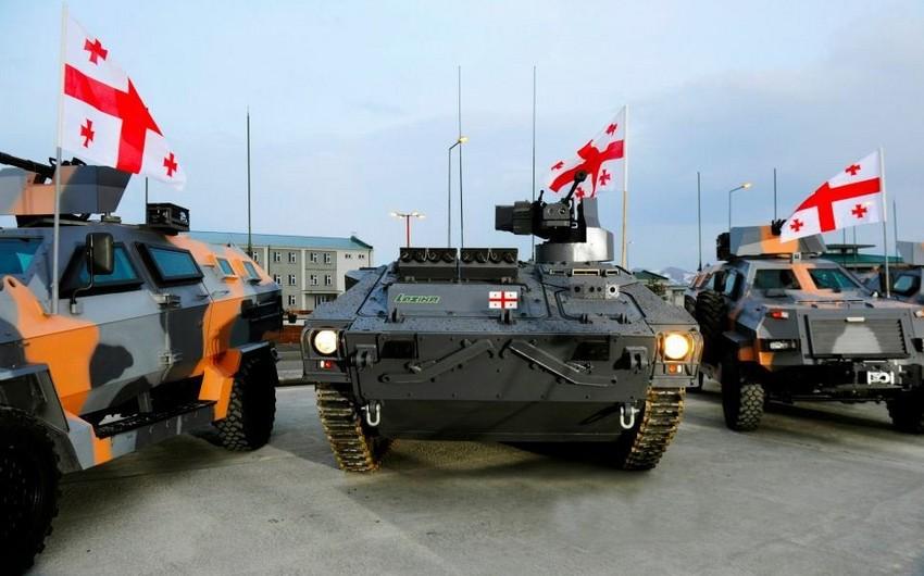 Gürcüstan NATO standartlarına uyğun yeni hərbi texnika alacaq