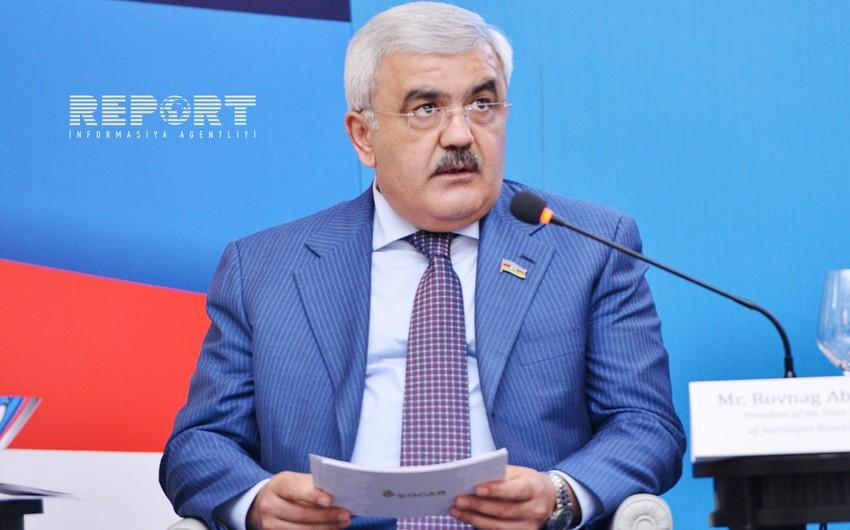 """Rövnəq Abdullayev: """"Avqust ayına qədər TANAP üzrə işlərin 31,4% yerinə yetirilib"""""""