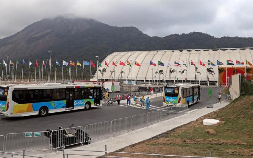 На Рио-2016 автобус с турецкими баскетболистками потерял дорогу