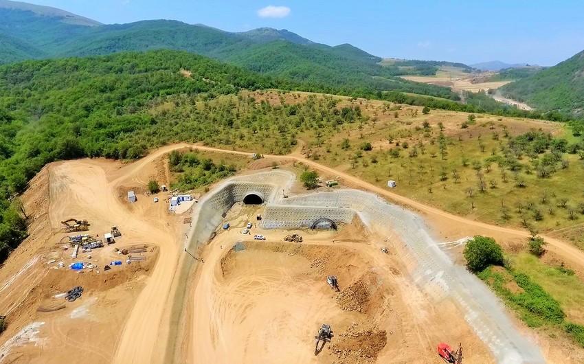 Yeni Əhmədbəyli-Füzuli-Şuşa avtomobil yolunda tunellərin inşası başlayıb