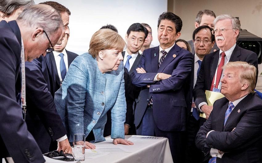 """""""G7"""" ölkələrinin liderləri Rusiyanın iştirakı ilə """"G8""""-ə qayıtmağı müzakirə ediblər"""