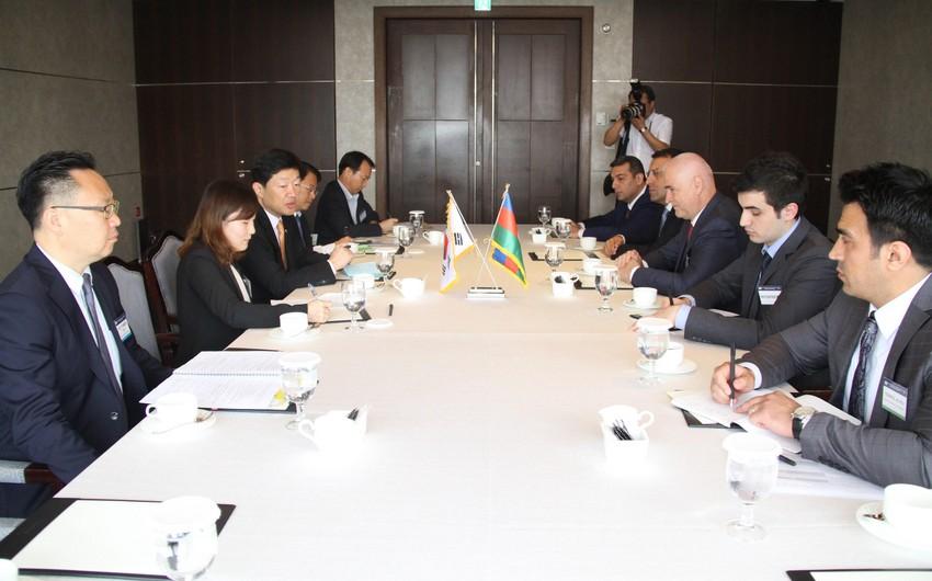 Koreya-Azərbaycan iqtisadi əməkdaşlıq üzrə Hökumətlərarası Birgə Komissiyanın ilk iclası keçirilib