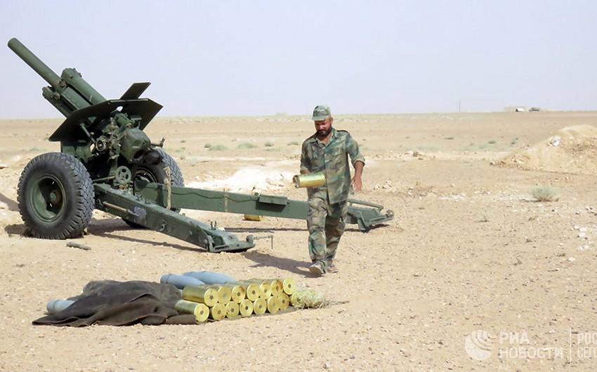 Suriya ordusu Deyr-əz-Zor aviabazasının blokadasını yarıb - VİDEO