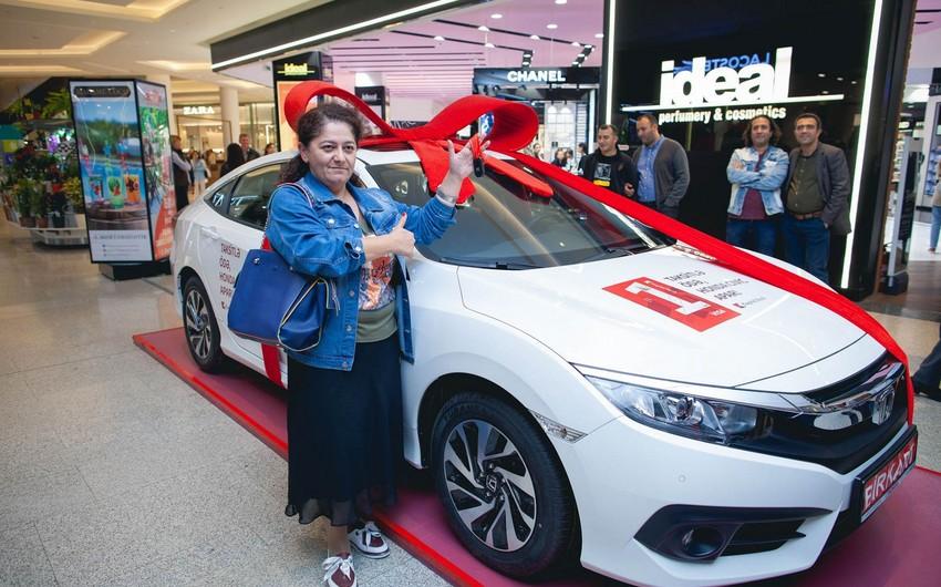 BirKart müştərisi Honda Civic qazanıb