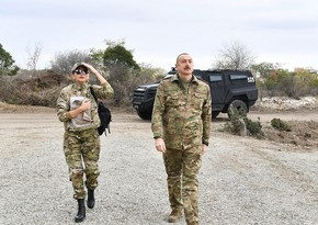 President Ilham Aliyev and first lady Mehriban Aliyeva visit Gubadli and Zangilan districts