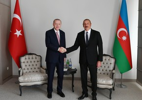 Erdogan makes phone call to Ilham Aliyev over Remembrance Day