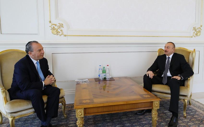 Президент Ильхам Алиев принял президента Фонда этнического взаимопонимания США - ДОПОЛНЕНО