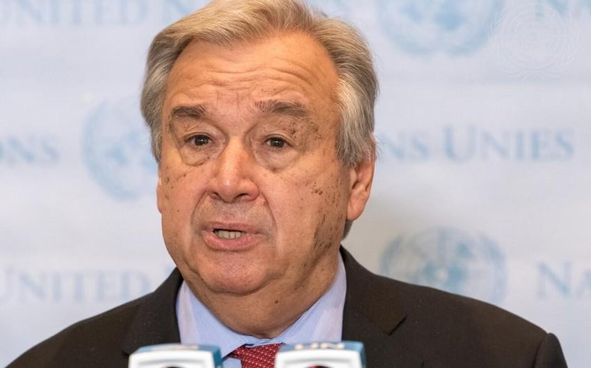 Генсек ООН заявил о надвигающейся гуманитарной катастрофе в Афганистане
