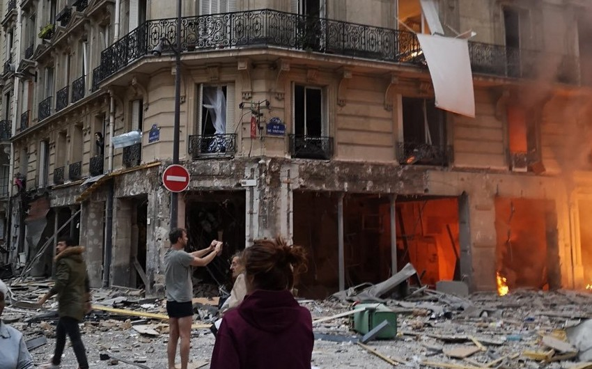 Nearly 50 people suffered in an explosion in Paris - VIDEO - UPDATED
