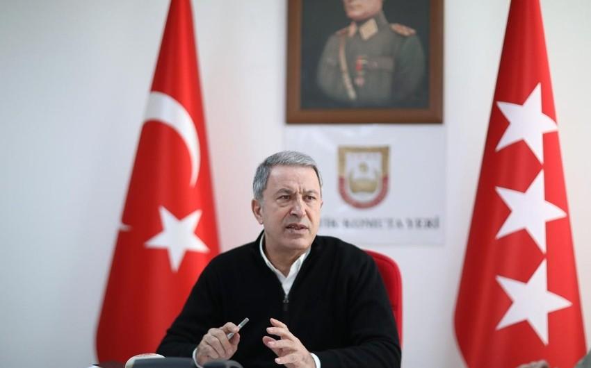 Hulusi Akar: Azərbaycanda özümüzü həqiqətən Vətənimizdə hiss edirik