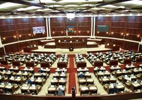 Милли Меджлис обсуждает заявление протеста против резолюции Сената Франции