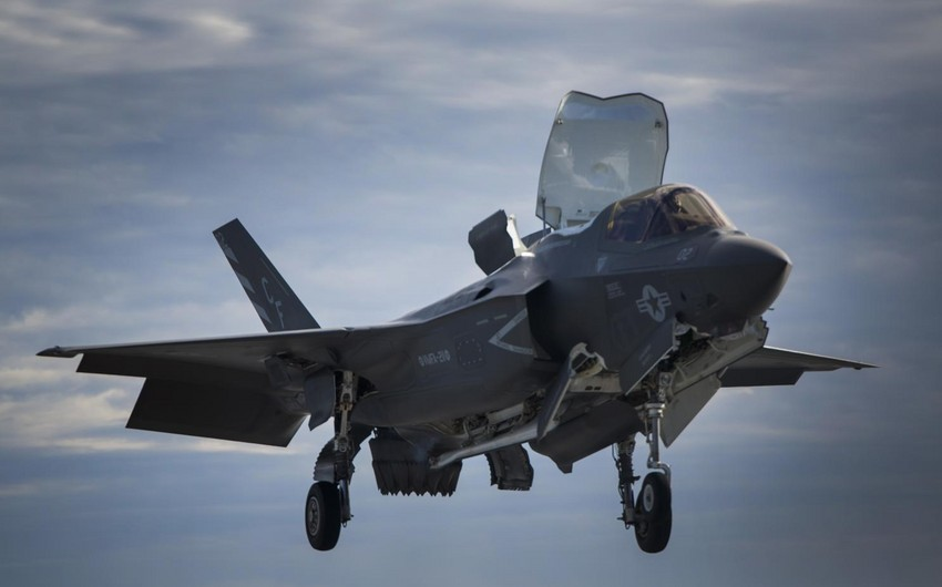 A bird beat up a Marine Corps F-35B in Japan