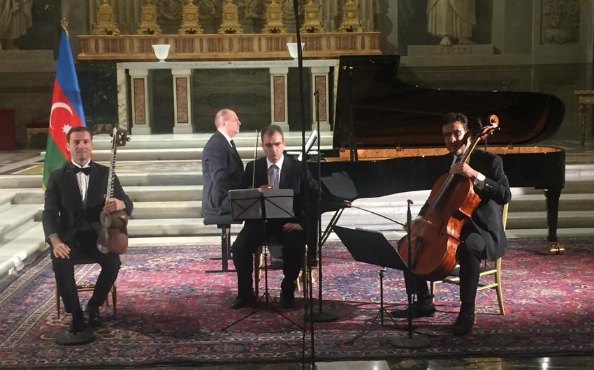 İtaliya Prezidentinin Sarayında Azərbaycan musiqisi konserti keçirilib
