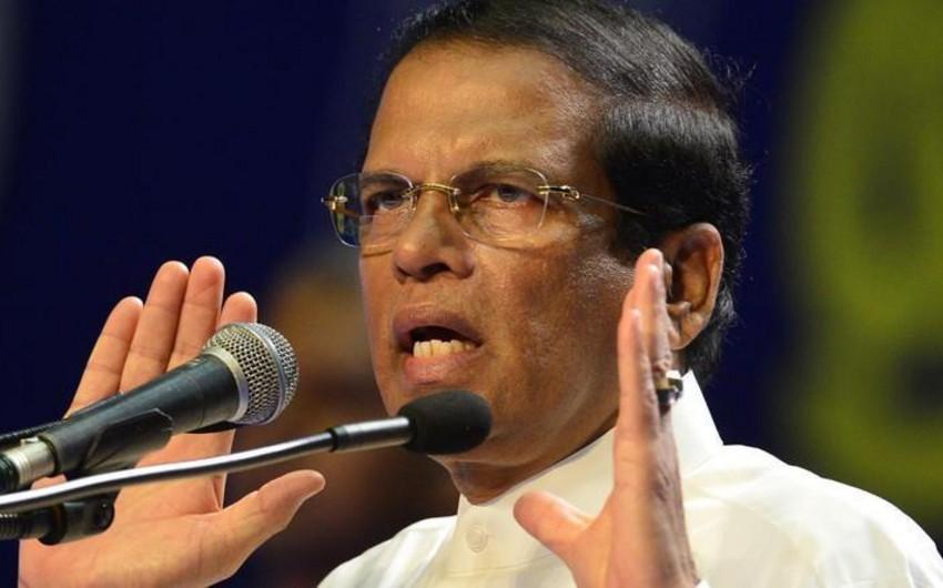 Şri-Lanka Prezidenti: Terror hücumları xaricdə hazırlana bilərdi