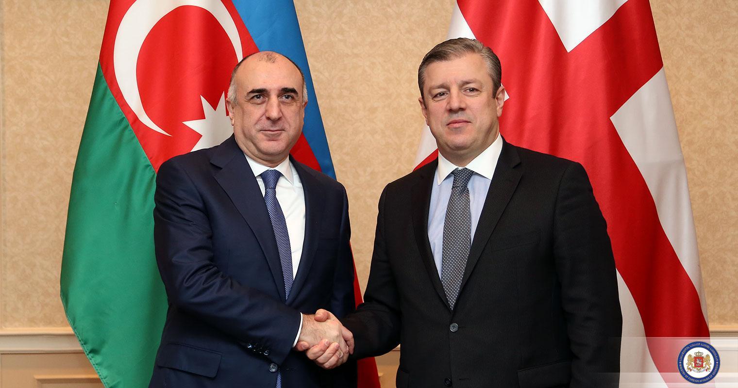 Azerbaijani and Georgian FMs exchanged views on development prospects