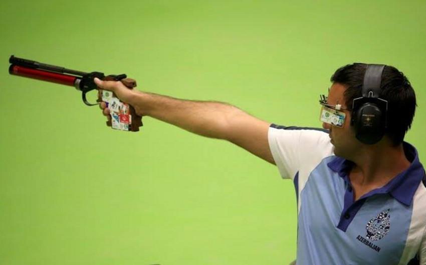 Azərbaycan Rio-de-Janeyro Yay Olimpiya Oyunlarında təmsil edən güllə atıcısı Ruslan Lunyov mübarizəyə qoşulub