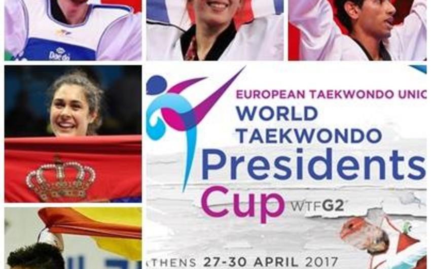 Azərbaycan taekvondoçusu Yunanıstanda bürünc medal qazanıb