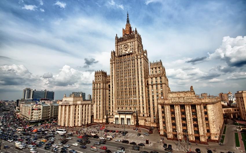 Rusiya XİN: Moskva terrorla mübarizə məsələsində Türkiyə ilə dialoqu inkişaf etdirəcək