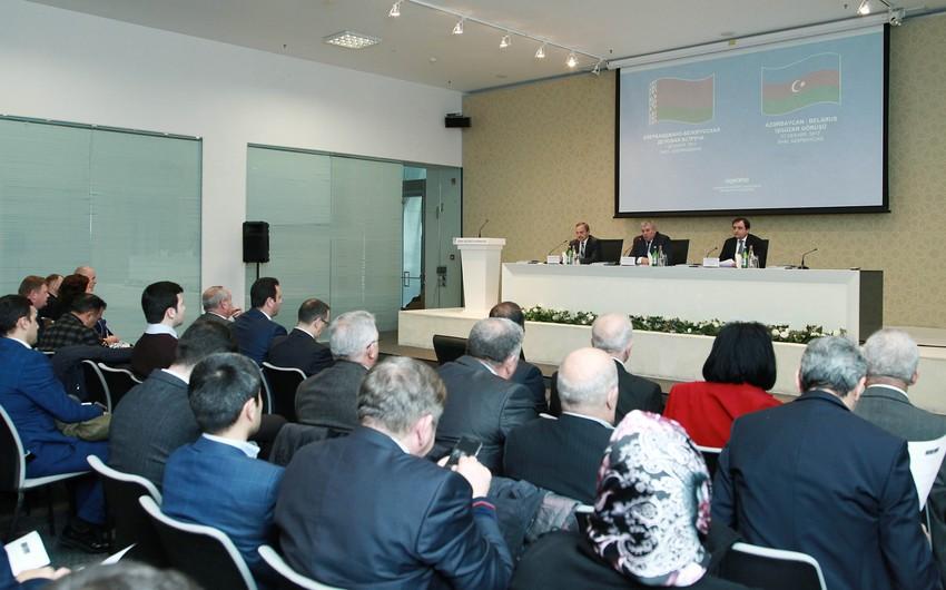 Bakıda Azərbaycan-Belarus işgüzar görüşü keçirilib
