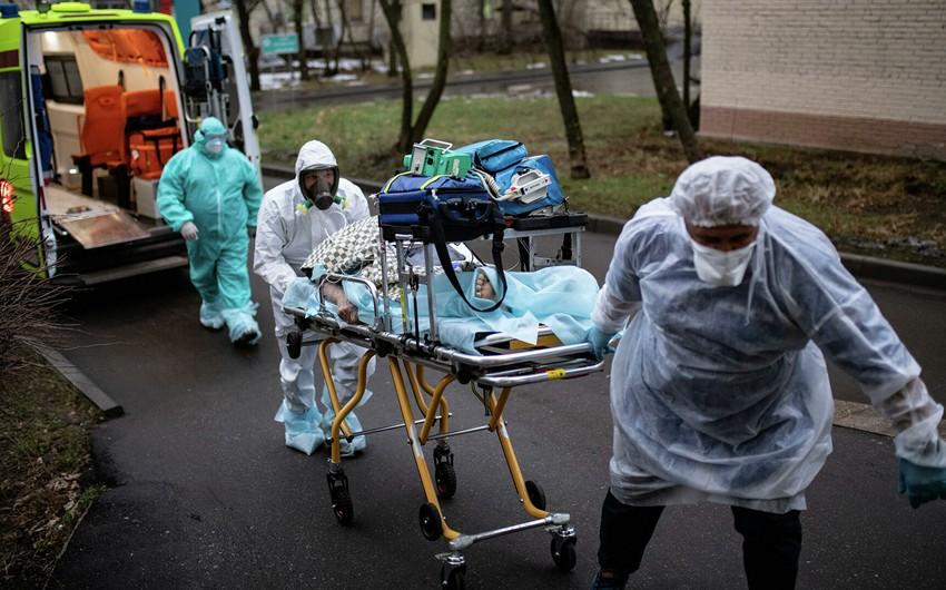 Rusiyada daha 470 nəfər koronavirusdan ölüb