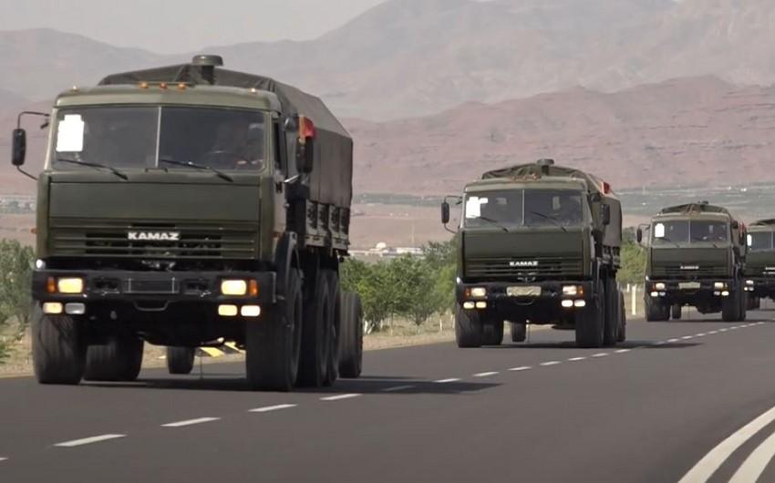 Naxçıvanda Azərbaycan Ordusunun təlimləri davam edir