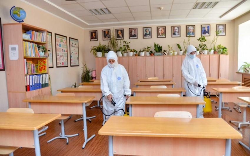Təhsil nazirinin müşaviri: Bütün məktəblərdə xüsusi izolyasiya otaqları hazırlanıb