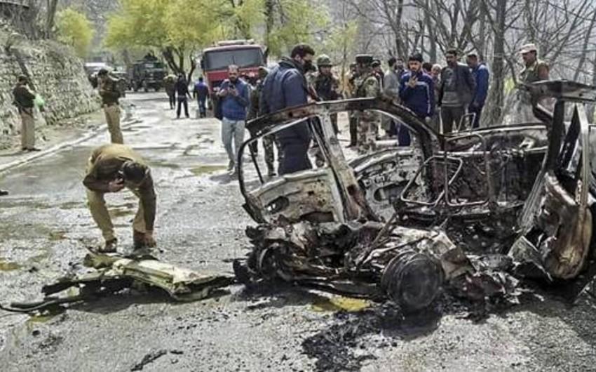Hindistanda partlayış törədilib, 15 hərbçi ölüb