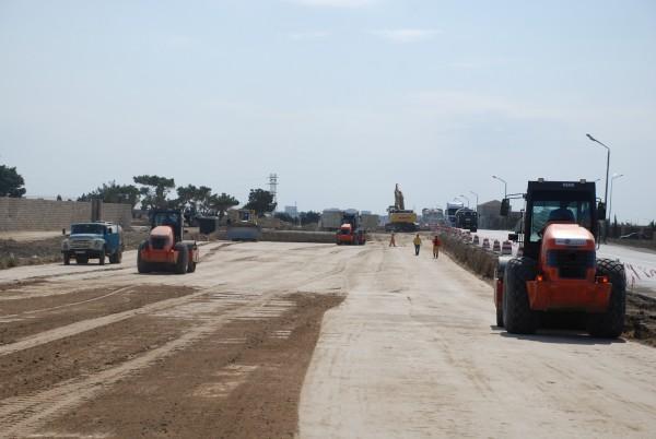 На строительство дороги в Ярдымлинском районе выделено 1,3 млн. манатов