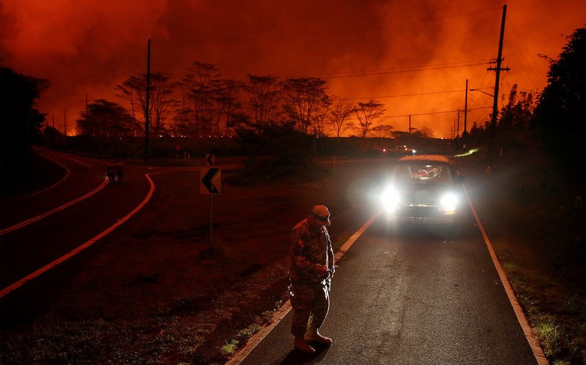 Число разрушенных лавой домов на острове Гавайи возросло до 117