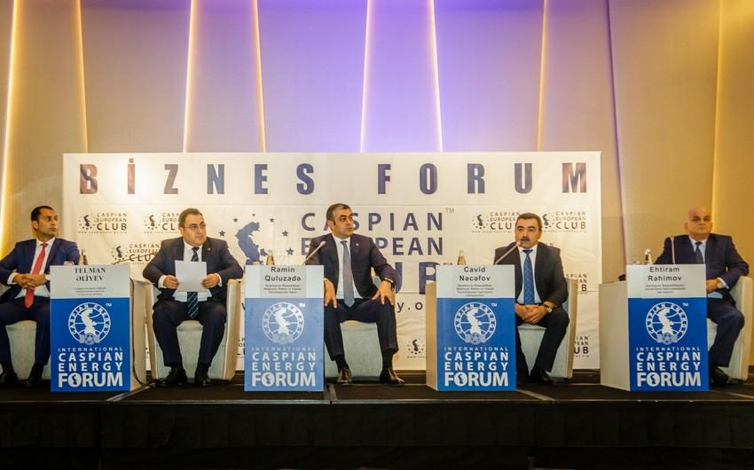 Bakıda Caspian Energy Transport Forum keçirilib