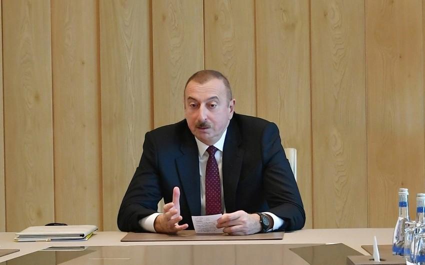 Prezident İlham Əliyev: Doqquz ayın sosial-iqtisadi göstəriciləri müsbətdir - FOTO