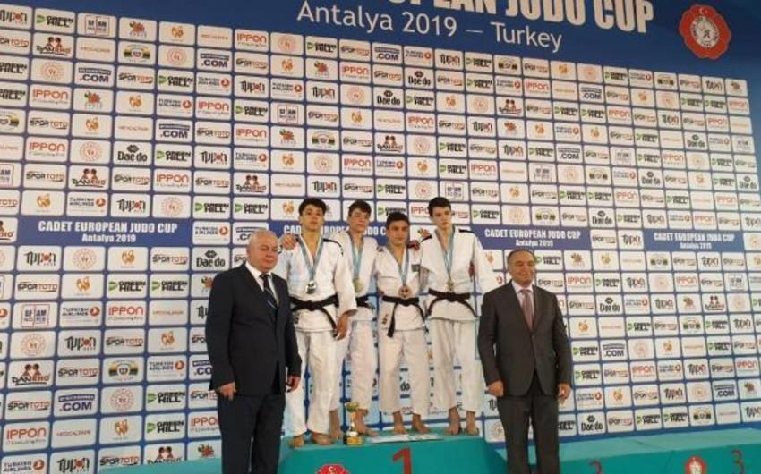 Azərbaycan idmançıları yeniyetmələr arasında cüdo üzrə Avropa kubokunda 3 medal qazanıb