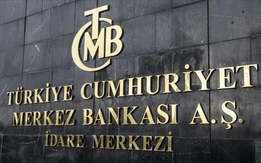 Türkiyə Mərkəzi Bankının valyuta ehtiyatları azalıb