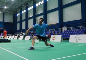 MDB Oyunları: Azərbaycan badmintonçuları 1 qızıl, 3 gümüş, 1 bürünc medal qazanıb