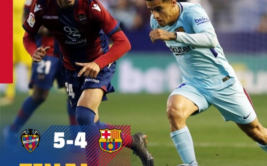 Барселона потерпела первое поражение в чемпионате Испании - ВИДЕО