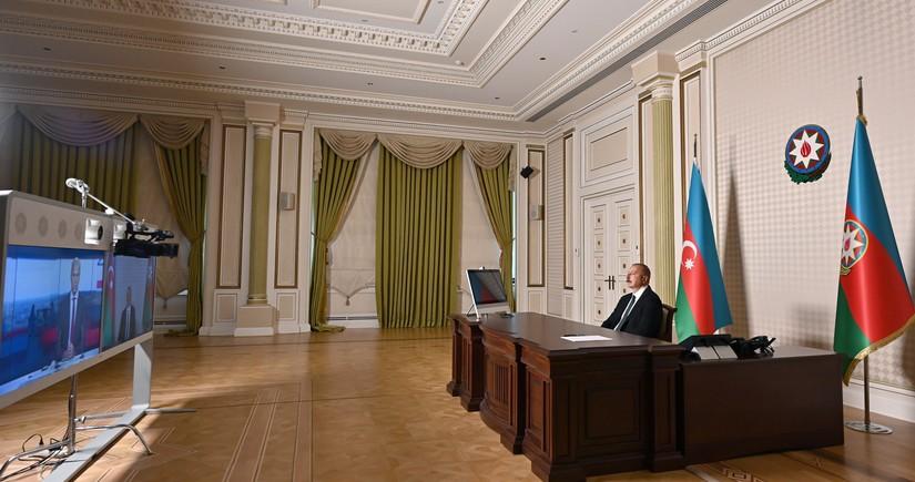 """Prezident İlham Əliyev """"France 24"""" televiziyasına müsahibə verib"""
