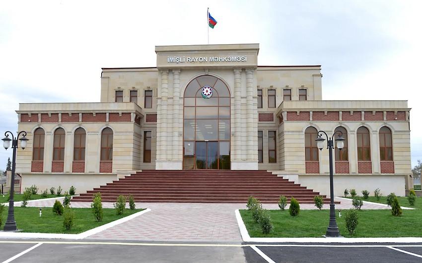 İmişli Rayon Məhkəməsinin yeni müasir inzibati binası istifadəyə verilib