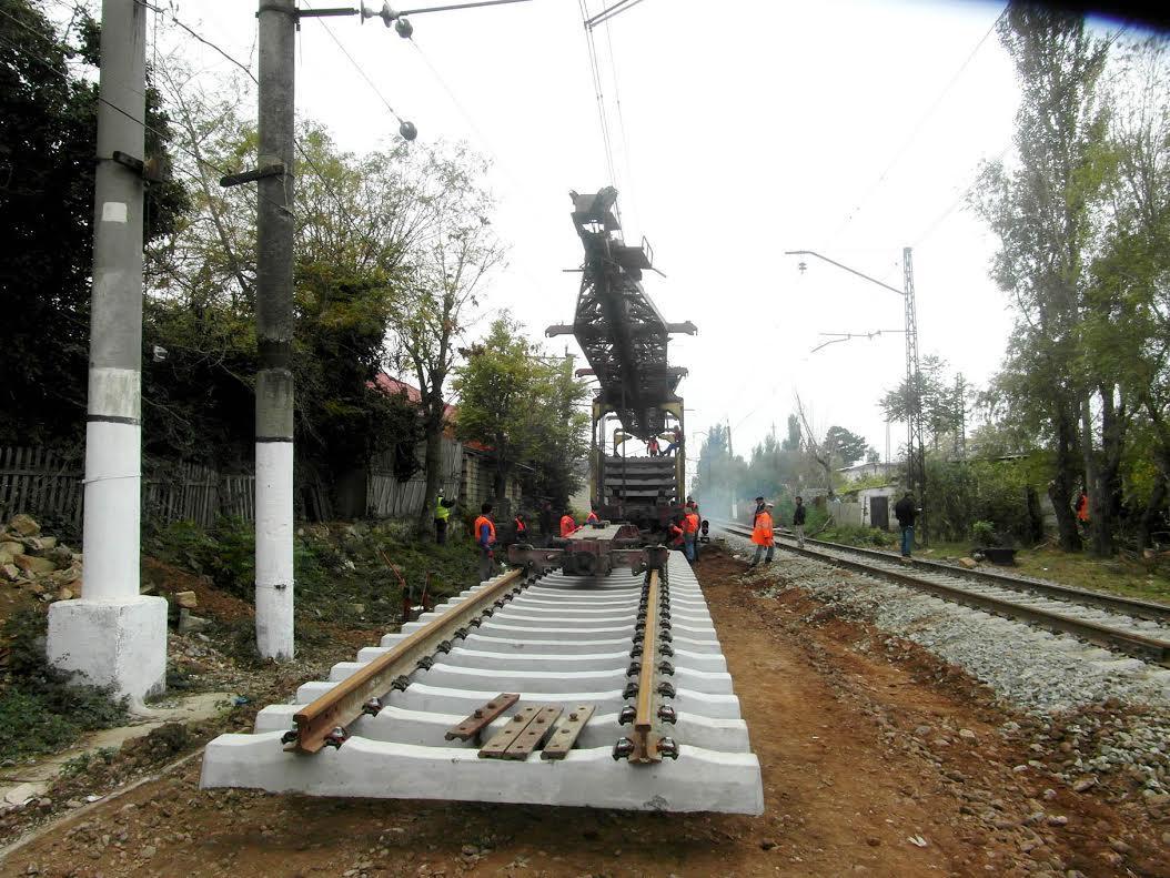 Начат капитальный ремонт железной дороги Алят-Гобустан