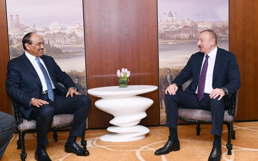Azərbaycan Prezidenti Küveytin Baş Naziri ilə görüşdü - YENİLƏNİB