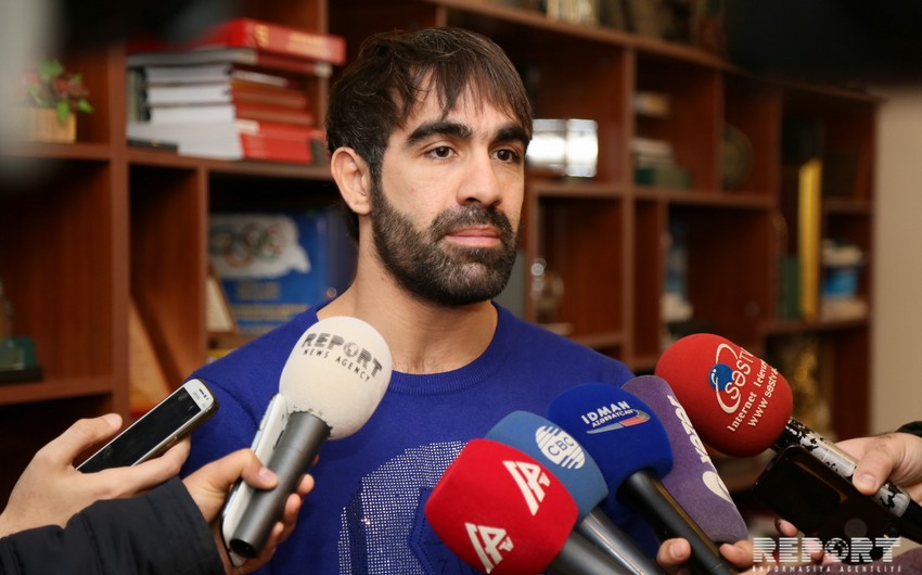 Rafael Ağayev: Azərbaycan xalqı hər zaman qızıl medal qazanmağıma öyrəşib - MÜSAHİBƏ
