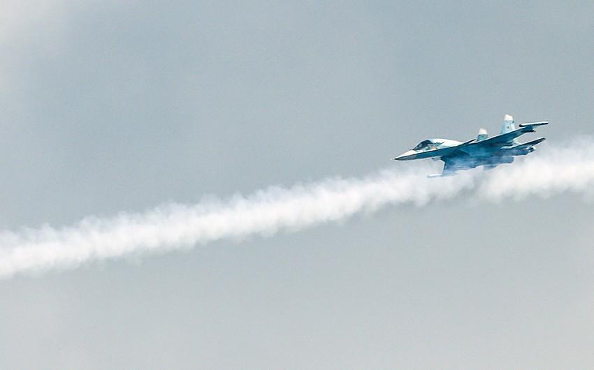 Su-34 fighter crashes in Russia