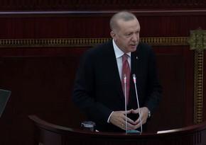 Prezident: Ermənistan Azərbaycanla problemlərini həll etdikcə Türkiyə olaraq biz də lazımi addımları atacağıq