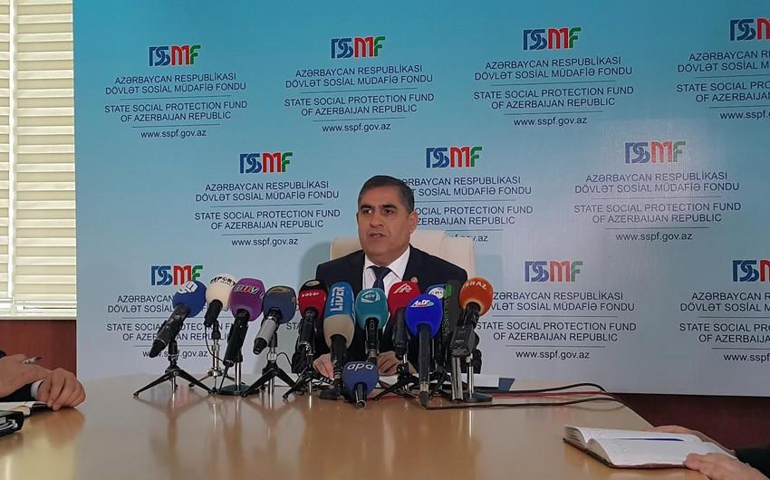 DSMF sədrinin müavini: Əmək pensiyalarının sığorta hissəsinin artırılması pensiyaçıların 95 faizinə şamil olunacaq