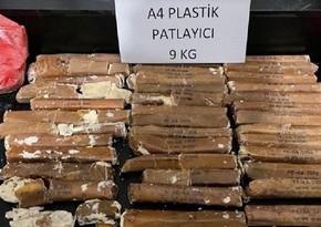 Türkiyədə külli miqdarda narkotik və partlayıcı maddə ələ keçirildi