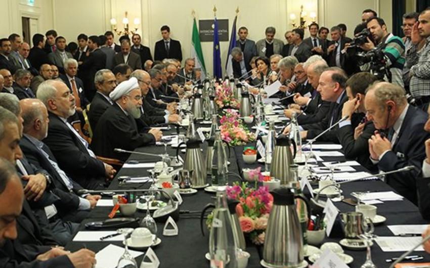 Fransa Senatının sədri İran prezidenti ilə görüşüb