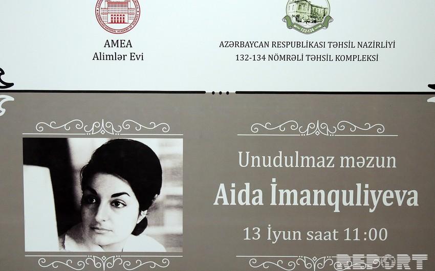 Unudulmaz məzun Aida İmanquliyeva kitabının təqdimatı olub - FOTO